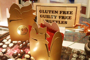 Gourmet Chocolate Truffles from the Truffle Shop are Gluten and Guilty Free!