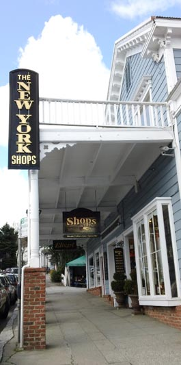 The New York Hotel on Broad St in Nevada City, CA home of the Truffle Shop